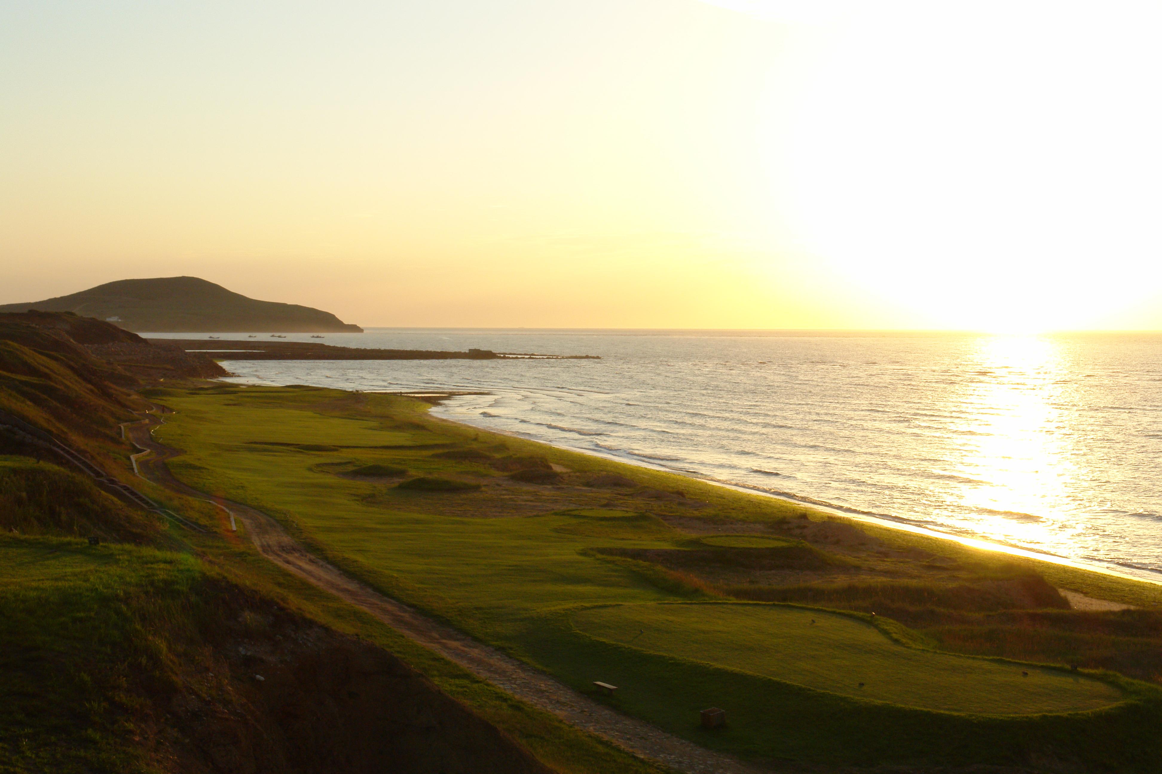 热烈庆祝球包通成功携手大连长兴岛高尔夫球场