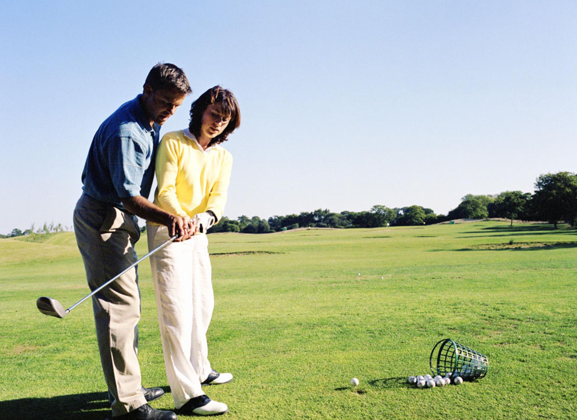 终于知道为什么有钱人都喜欢打高尔夫了!