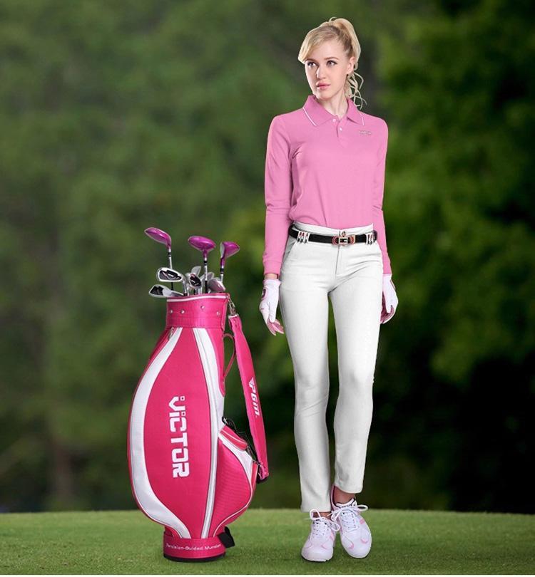 看看打高尔夫的女人该怎么穿才更美?
