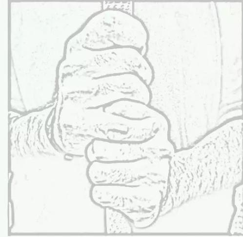据说握杆的姿势可以看出人的性格,你知道吗?