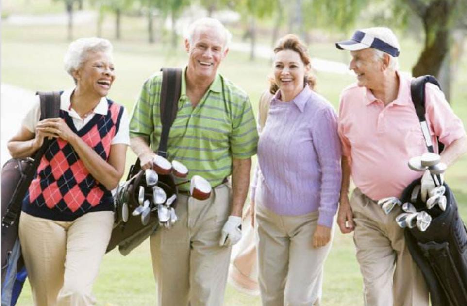 高尔夫是一项可以陪伴到老的运动!