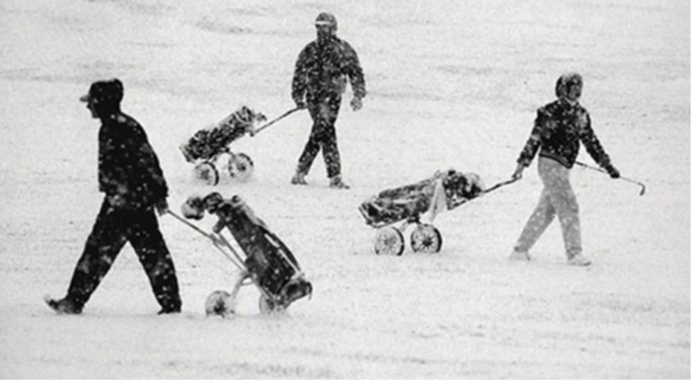 冬季必须这样来玩高尔夫!