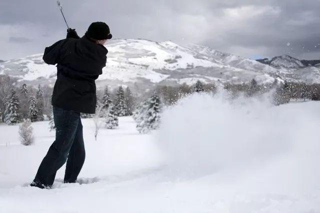 冬天打高尔夫的六点注意事项,你必须要了解哟!