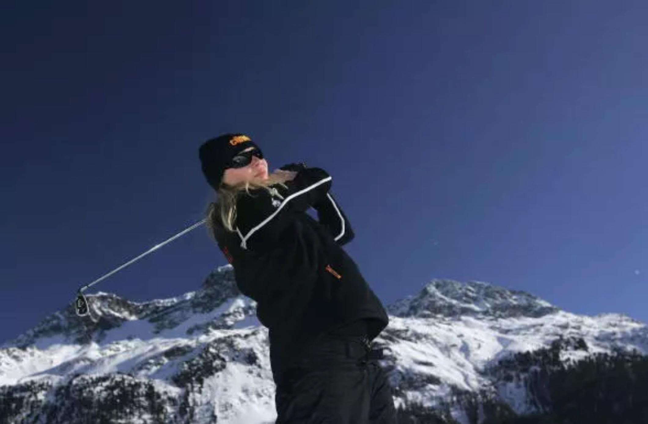 去芬兰感受雪地高尔夫球的冰火交融吧!