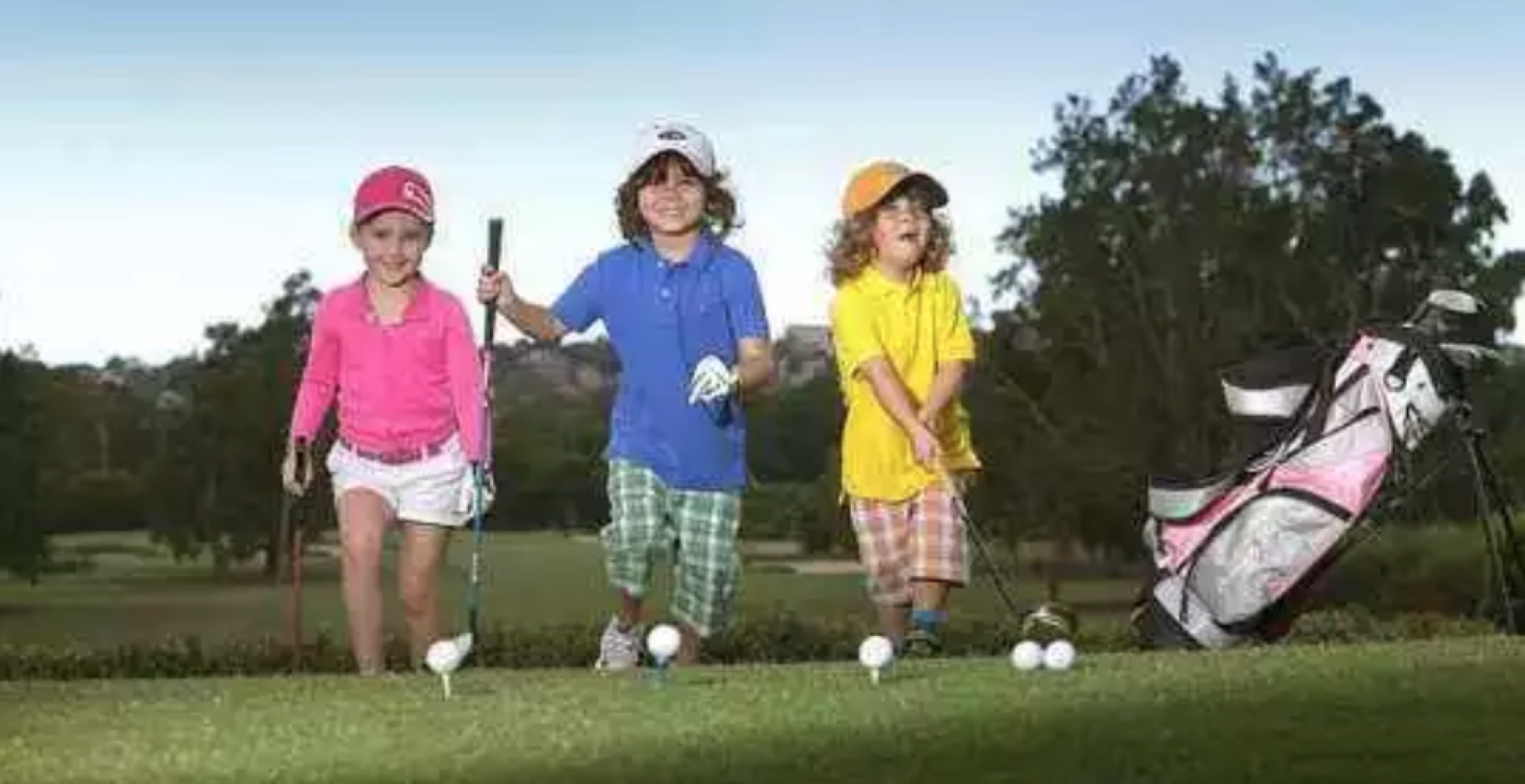暑假到了带着您的孩子来一场高尔之旅吧!