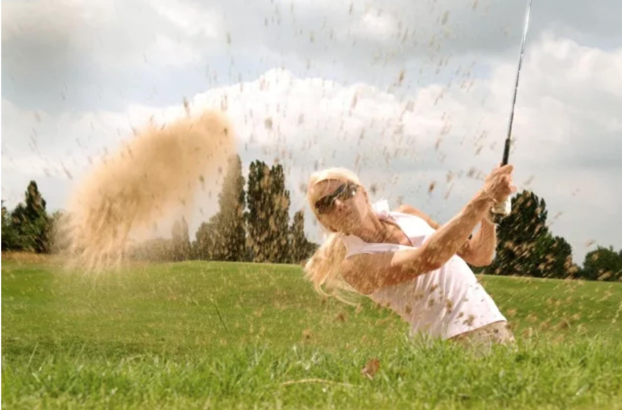 你打高尔夫到底为了什么?