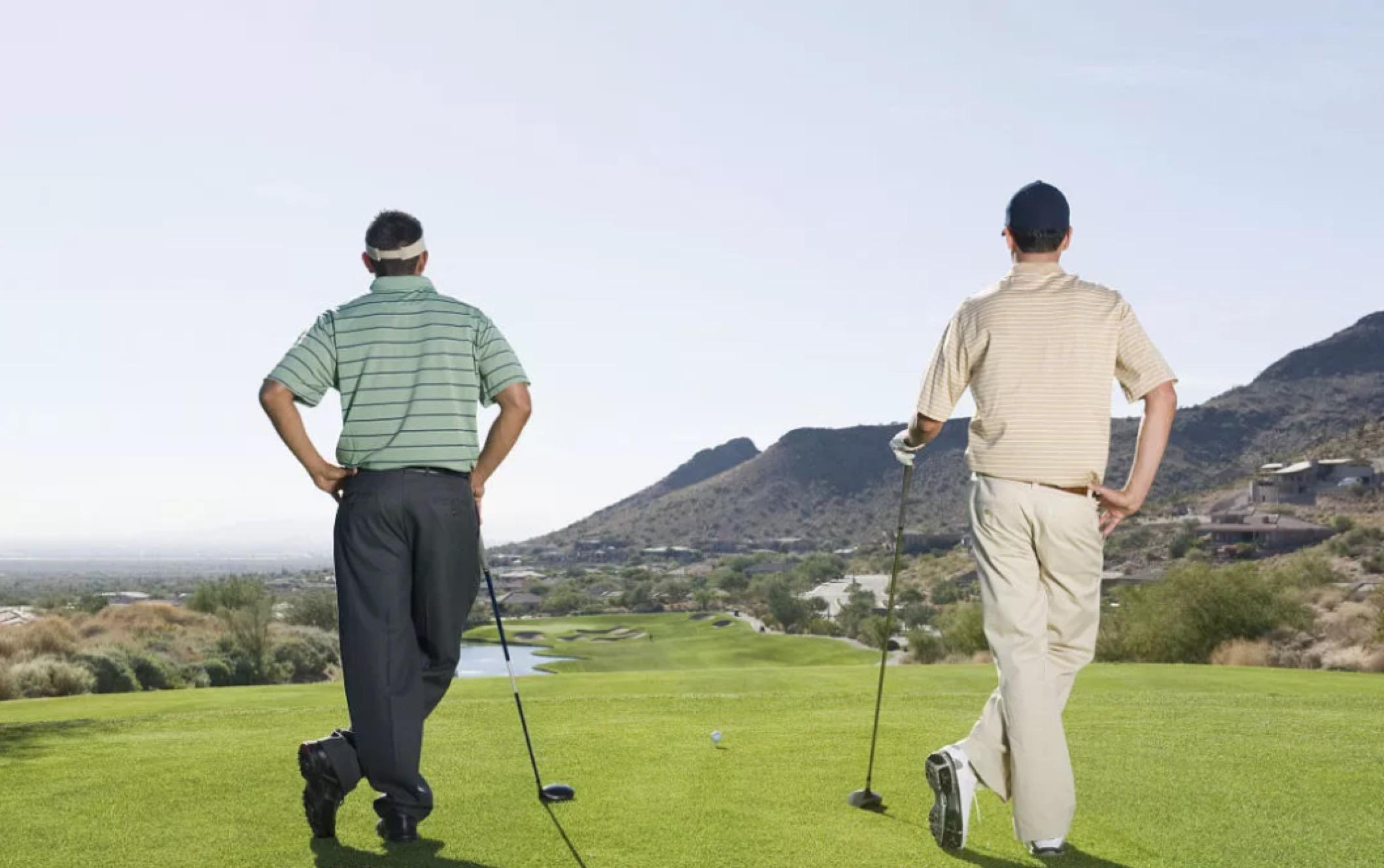 高尔夫,人生难得的良师益友!
