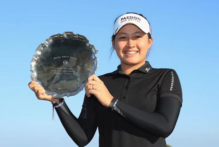 高尔夫新一代球星满怀期待角逐AIG女子公开赛
