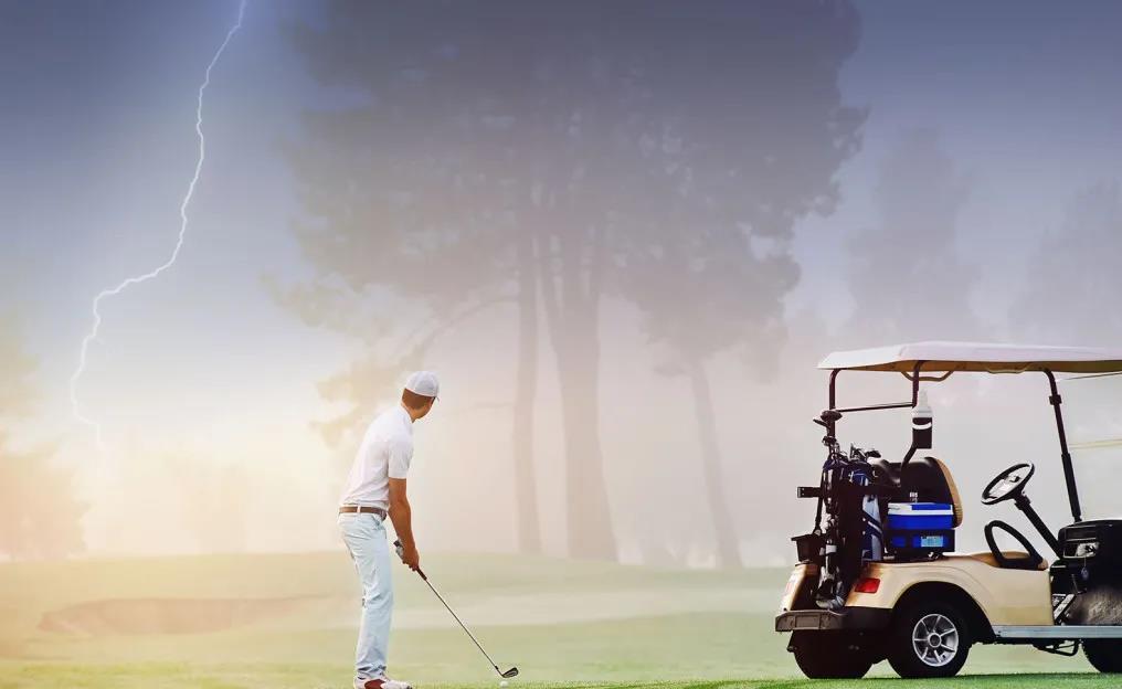 一场高尔夫运动,好比一堂心灵修行课
